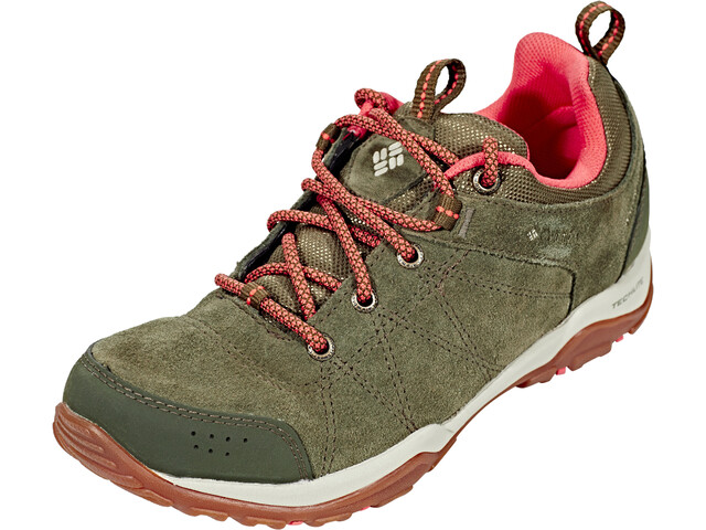 f0b47b2473650 Columbia Fire Venture Low Waterproof - Chaussures Femme - olive